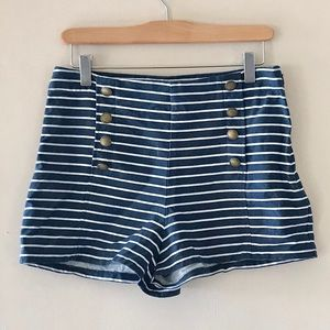 Abercrombie & Fitch striped shorts - approx Size S